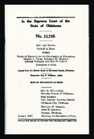 Cover of Court Case Cross box 25 folder north campus 1946-1949.pdf